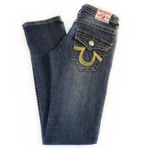 "TRUE RELIGION | ""Joey"" Super T Low Rise Jeans"